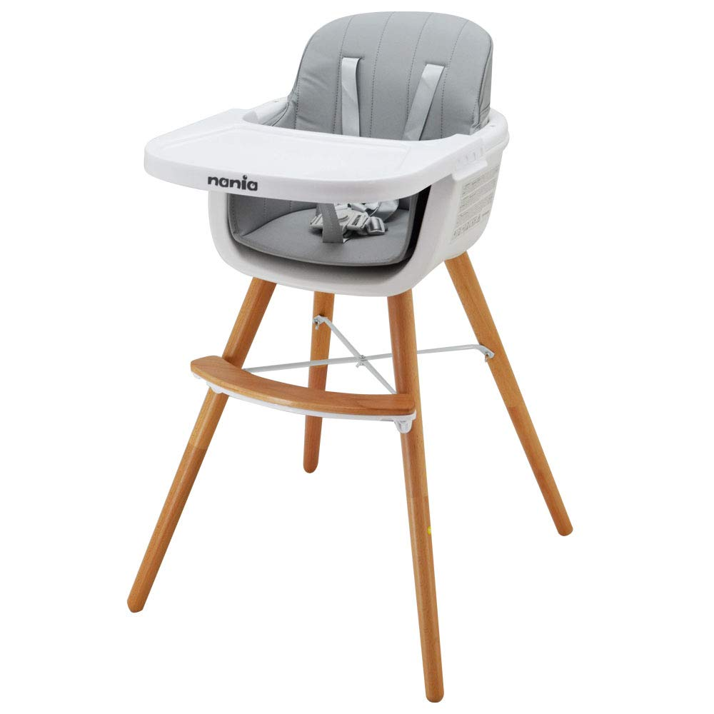 Luna 2 in 1 highchair for Babies - Nania