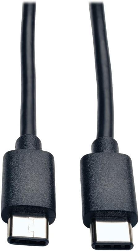 TRIPP LITE 6 USB 2.0 Hi-Speed Adapter Cable USB Type-C to USB Micro-B M//F U040-06N-MIC-F,Black