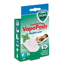 Vicks VapoPads Refill Scent Pads for Vicks Comforting Vapors Plug In, Inhalator and Humidifiers