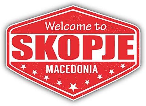 SELECT SIZE Skopje Car Laptop Phone Vinyl Sticker
