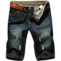 latud pantalones cortos de mezclilla