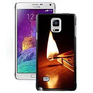 Fashion DIY Custom Designed Samsung Galaxy Note 4 Phone Case For Lit Match Phone Case Cover