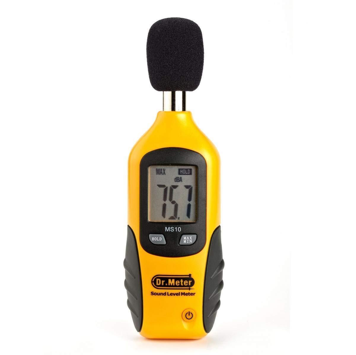 Dr.Meter Digital Sound Pressure Tester Meter 40-130dB Decibel Noise Measurement