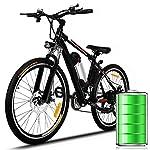 """510Qm2WlLwL. SS150 Eloklem 26"""" Bicicletta elettrica Biciclette elettriche da Montagna per Uomo Donna Adulti con 250W Batteria Rimovibile 36V / 8AH, Bici elettrica, Fino a 32 km/h Professionali a 21 velocità"""