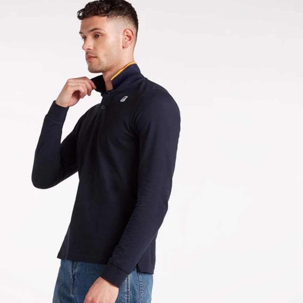 K-Way rochel mens polo camicia stretch