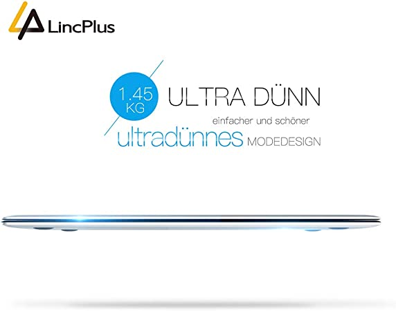 LINC Plus P1 13.3 1920 x 1080 FHD Metal Laptop Ultraligero Delgado ...
