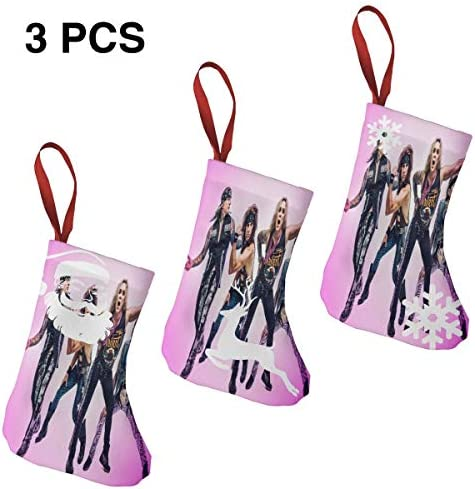 クリスマスの日の靴下 (ソックス3個)クリスマスデコレーションソックス Steel Panther クリスマス、ハロウィン 家庭用、ショッピングモール用、お祝いの雰囲気を加える 人気を高める、販売、プロモーション、年次式