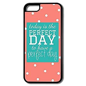 MMZ DIY PHONE CASEiphone 5/5s Cases Perfect Day Design Hard Back Cover Shell Desgined By RRG2G