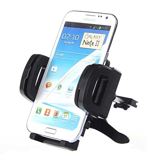 Bareas K-04 Car Phone Mount Air Vent Holder for iPhone 6s Plus 6s 5s 5c, Samsung Galaxy S6 Edge Plus S6 S5 S4, Note 5 4 3, Google Nexus 5 4, LG G4-Retail Pack (3.0-6.0 Inch Style D)