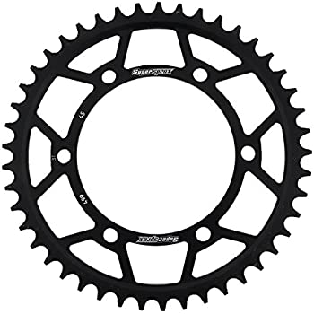 Amazon Com Supersprox Rfe 1793 45 Blk Rear Steel Sprocket Black For