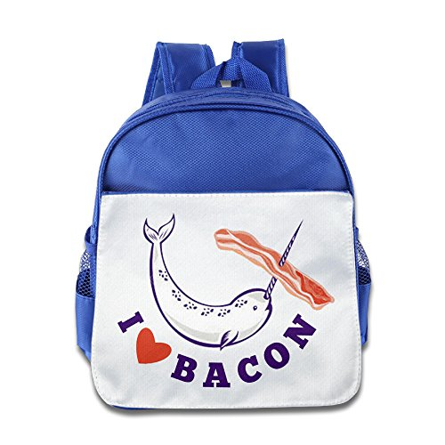 Price comparison product image OurLove I Love Bacon Unisex Bags Brand New Size Size Key RoyalBlue