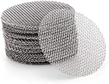 200pcs 3/4 Inch Stainless Steel Pipe Screens, 3/4