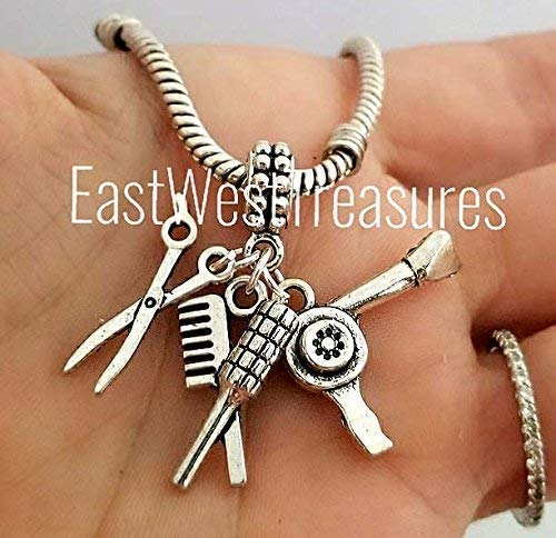 dresser stylist charms pendant- For charm bracelet and chain necklace ()