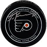 Travis Konecny Philadelphia Flyers Autographed Official Game Puck - Fanatics Authentic Certified - Autographed NHL Pucks