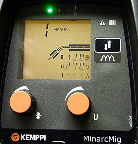 Kemppi MinarcMig 170 EVO - Soldador inverter portátil: Amazon.es: Bricolaje y herramientas