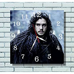 Game of thrones 11.4'' Handmade Wall Clock - Get unique décor for home or office – Best gift ideas for kids, friends, parents and your soul mates