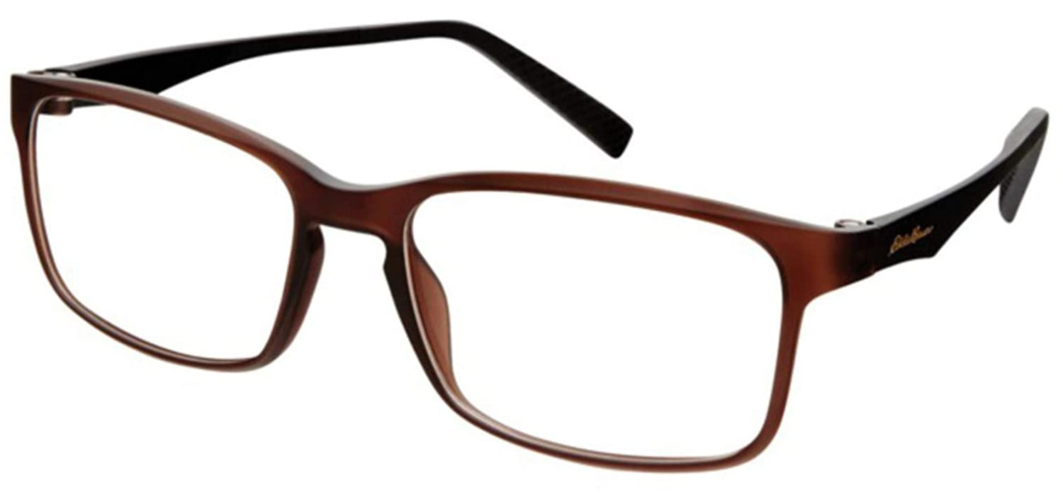 46adc25337 Eyeglasses Eddie Bauer 32016 Brown BR at Amazon Men s Clothing store