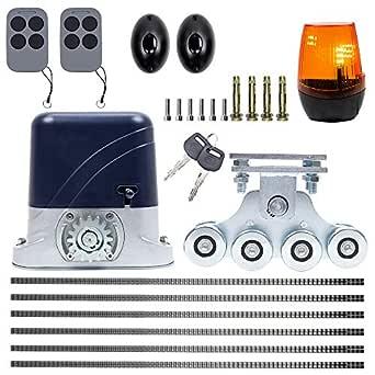 Kit de automatización autoportante para puertas PNI AP600, motor, ruedas, celdas fotográficas, mando a distancia, lámpara y portaequipajes, 6 metros: Amazon.es: Industria, empresas y ciencia