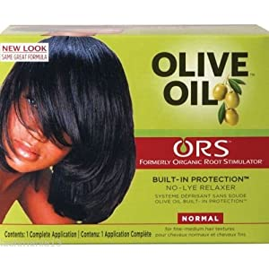 Rup Organic Root Stimulator Aceite de oliva no Lye pelo relaxer-normal