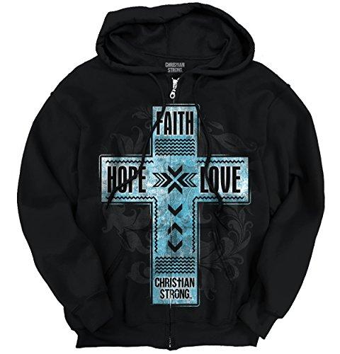 (Zip Faith Hoodie)