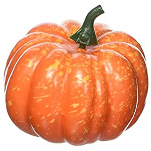 "3"" (80mm) Mini Artificial Pumpkins - Package of 12 7"