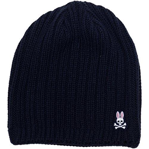 Psycho Bunny(サイコバニー)切り替えビーニー PHMG752F ネイビー(30)