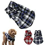 Small-Size Dog Shirt, HP95(TM) Summer Dog Sweater Clothes, Cute Teddy Dog Cat Thin Sweater, Puppy Clothes Shirt (M (Length:13