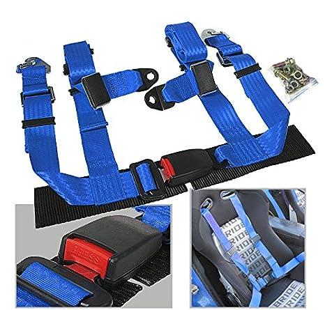 rxmotor Racing hebilla de cinturón de seguridad Arnés de 4 puntos ...