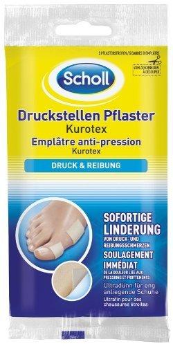 Scholl Druckstellen Pflaster-Kurotex