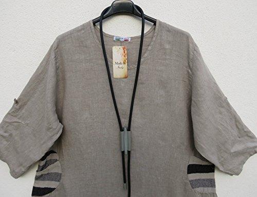 Bosch Entfernungsmesser Xxl : Italy vestito kleid xxl dress lagenlook linen sommer mode