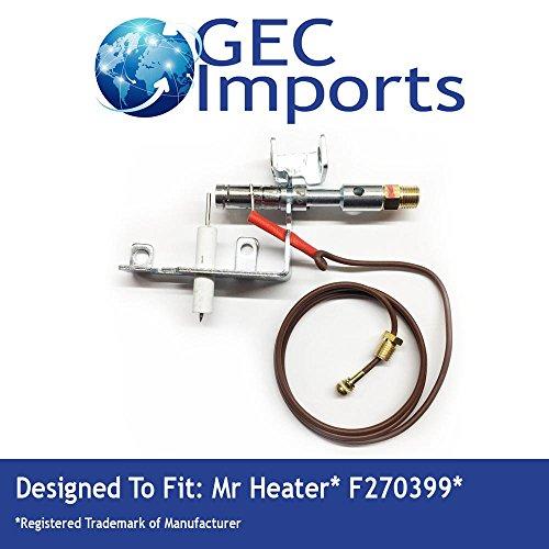 F270399 LP ODS Manual Gas Fireplace Pilot -