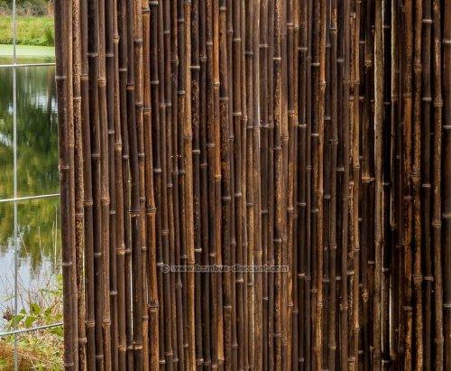 Bambusmatte Schwarz Sehr Stabile Ausfuhrung 150x250cm
