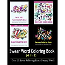Adult Coloring Book Swear Word Designs 4 In 1 Sep 18 2016