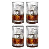 Cheap Fitz and Floyd 329054-4HB Augusta Highballs (Set of 4), Clear