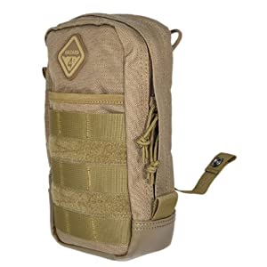 Hazard 4 Hazard 4 Broadside Large Utility Pouch with Molle, 9 X 5-Inch, Coyote