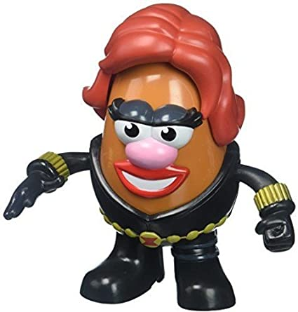 Figura mr. Potato: Black Widow 17 cm: Amazon.es: Juguetes y juegos