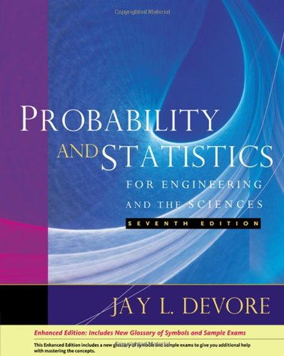 Probability and Statistics for Engineering and the Sciences, Enhanced Edition (Available 2010 Titles Enhanced Web Assign