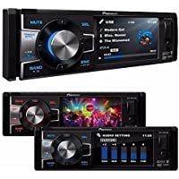 Pioneer DVH-885AVBT Single DIN Bluetooth In-Dash DVD/CD/AM/FM/Digital Media Car Stereo Receiver w/ 3.5 TFT Display