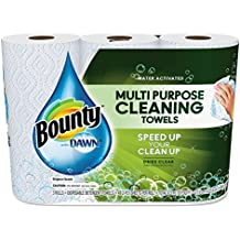 """Bounty 92379EA Paper Towels with Dawn, 2-Ply, 11"""" x 14"""", White (Pack of 3)"""
