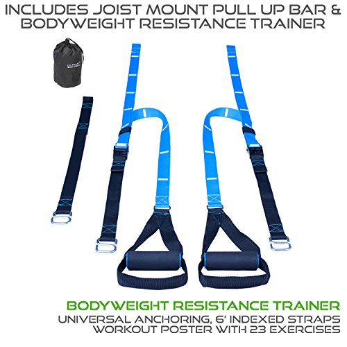 Ultimate Body Press Joist Mount Pull Up bar + Body Weight Resistance Trainer by Ultimate Body Press (Image #2)