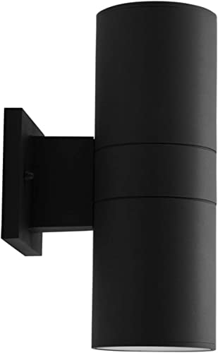 Outdoor LED Light Fixture Up Down Cylinder Wall Sconce