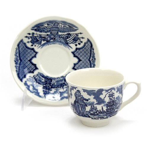 Fair Winds by Alfred Meakin, China Cup & Saucer ()