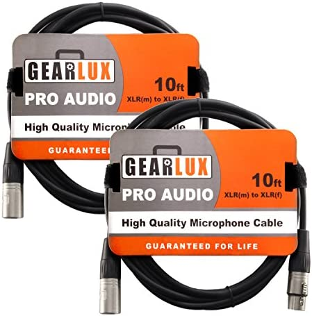 Gearlux XLR Microphone Cable Foot product image