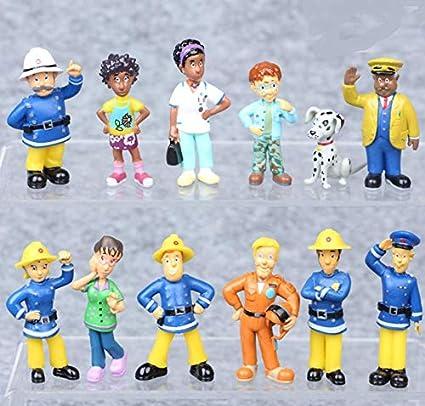 Amazon.com: Astra Gourmet Fireman Sam figuras juguetes ...