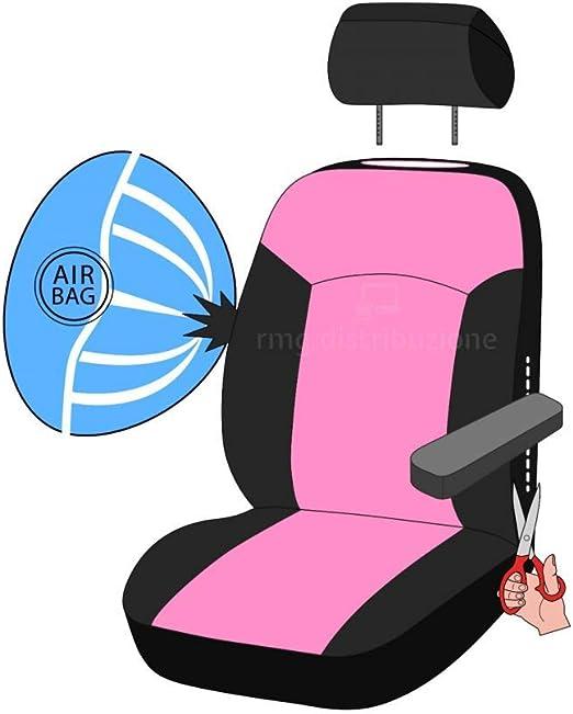 compatibili con sedili con airbag 2004-2007 bracciolo Laterale rmg-distribuzione Coprisedili per FORFOUR Versione sedili Posteriori sdoppiabili R01S0790