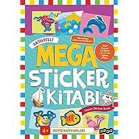 Mega Sticker Deniz Hayvanları