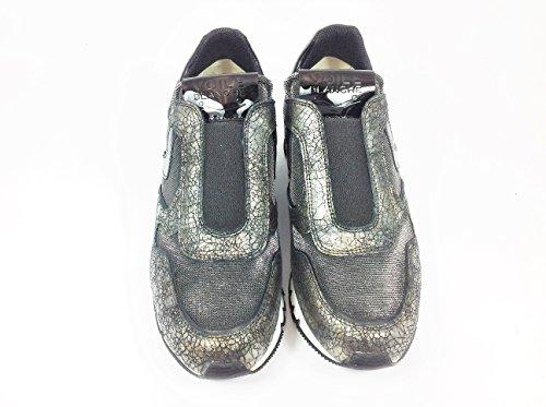 Julia Flex Sneaker-schwarz metallic sYFbRXF