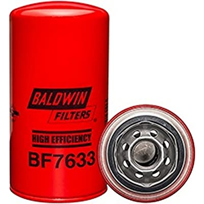 Baldwin BF7633 Heavy Duty Diesel Fuel Spin-On Filter (Pack of 12): Automotive