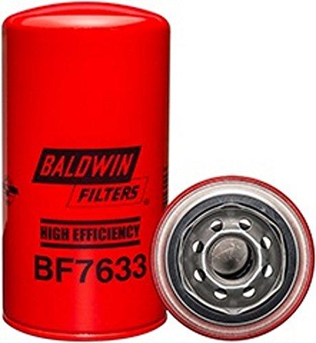 Baldwin BF7633 Heavy Duty Diesel Fuel Spin-On Filter (Pack of 2)
