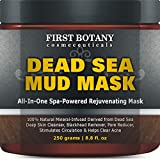 Dead Sea Mud Mask Benefits 100% Natural Mineral-Infused Dead Sea Mud Mask 8.8 oz for Facial Treatment, Skin Cleanser, Pore Reducer, Anti Aging Mask, Acne Treatment, Blackhead Remover, Cellulite Treatment & Natural Moisturizer